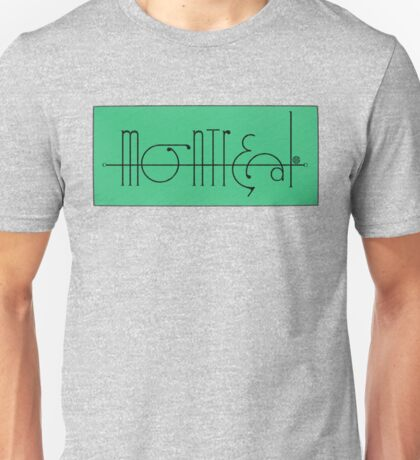 Montreal 2016 Unisex T-Shirt