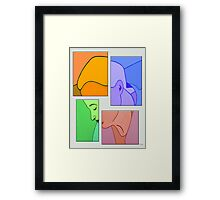 DEEP THOUGHTS Framed Print