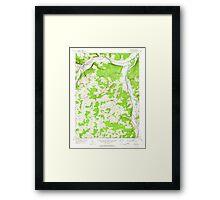 New York NY Addison 136532 1953 24000 Framed Print