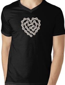 Love Biking Mens V-Neck T-Shirt