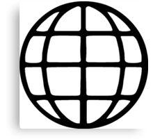 Global Symbol Canvas Print