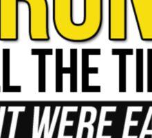 GAME OF THRONES - DRUNK Sticker