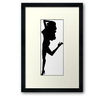 Sexy Woman Framed Print