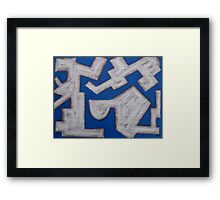 ABSTRACT 449 Framed Print