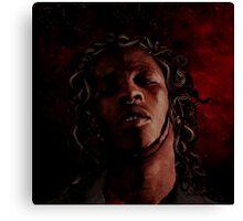 young thug - slim season 3 Canvas Print