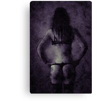 I Stand in Darkness by Mary Bassett Canvas Print