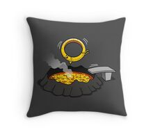 The Unmaking Dive Throw Pillow