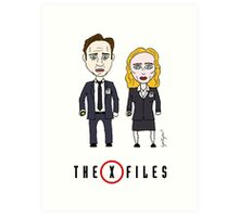 The X - Files Art Print
