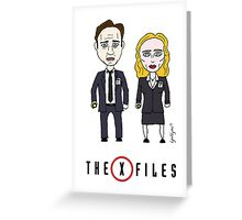 The X - Files Greeting Card