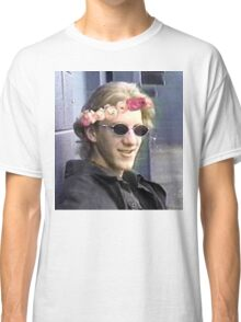 Dylan klebold flower crown. Classic T-Shirt