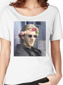 Dylan klebold flower crown. Women's Relaxed Fit T-Shirt