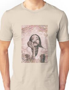 Girl with apple Unisex T-Shirt