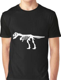 Tyrannosaurus Rex Dinosaur Skeleton Graphic T-Shirt