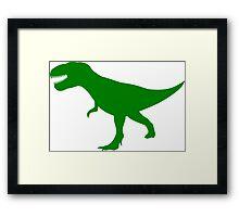 T Rex Dinosaur Framed Print