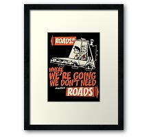 Roads Framed Print