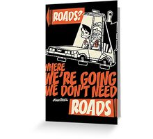 Roads Greeting Card