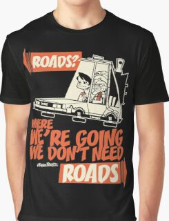Roads Graphic T-Shirt