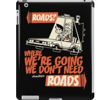 Roads iPad Case/Skin