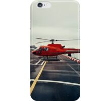 Red Helicopter iPhone Case/Skin