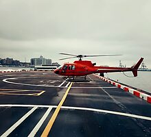 Red Helicopter by psychoshadow
