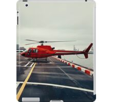Red Helicopter iPad Case/Skin