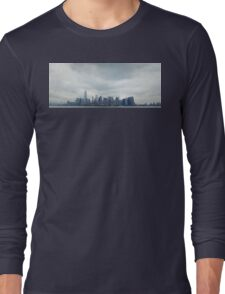 Manhattan Skyscrapers Long Sleeve T-Shirt