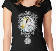 Alice in Frames Women's Fitted Scoop T-Shirt