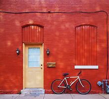 Red Building by Squizzys