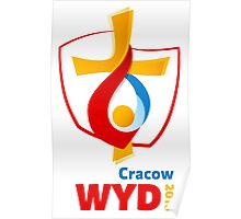 World Youth Day 2016 in Cracow logo Poster
