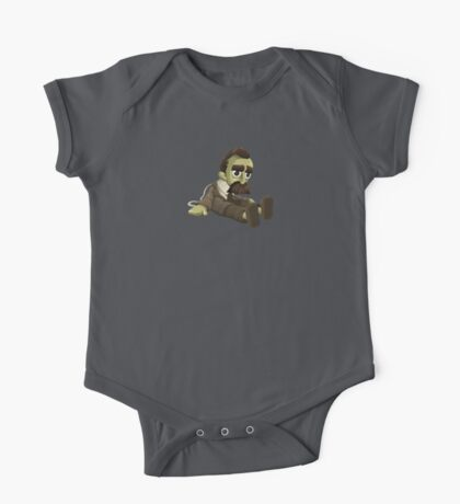 Nietzsche doll for truly lovers - glitch videogame One Piece - Short Sleeve