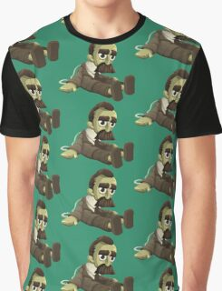 Nietzsche doll for truly lovers - glitch videogame Graphic T-Shirt