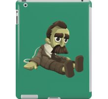 Nietzsche doll for truly lovers - glitch videogame iPad Case/Skin