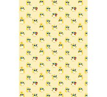 Cute Yellow Penguin Character Photographic Print