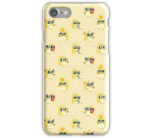 Cute Yellow Penguin Character iPhone Case/Skin