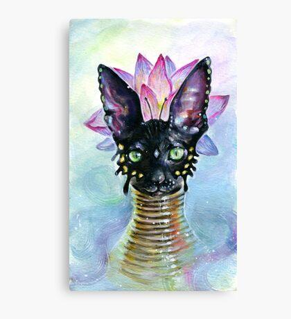 Cat Goddess Canvas Print