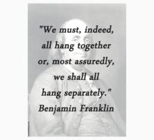 Franklin - Hang Together Baby Tee
