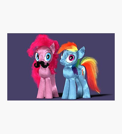 MLP 3D - The 'stache Photographic Print