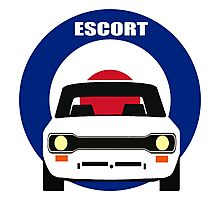 MK 1 ESCORT RS 1800 2000 MEXICO MEN'S T-SHIRTS Photographic Print