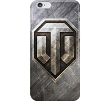 World of Tanks (WoT) Steel series logo only iPhone Case/Skin