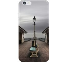 Bleak Penarth Pier iPhone Case/Skin