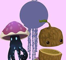 Inhabitant spirit - glitch videogame by EnjoyRiot