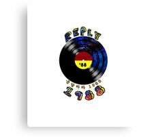 LP records.Reply 1988 Canvas Print