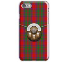 Clan MacKintosh Tartan And Sporran iPhone Case/Skin