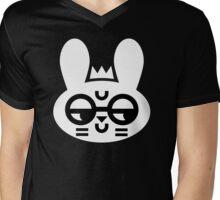 Wry Rabbit Mens V-Neck T-Shirt
