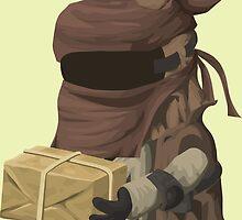 Inhabitant vendor - glitch videogame by EnjoyRiot