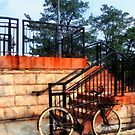 Bicycle by Train Station by Susan Savad