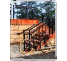 Bicycle by Train Station iPad Case/Skin