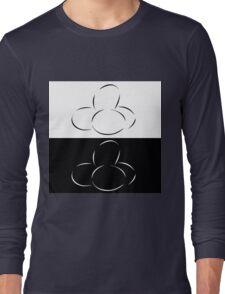 Abstract eggs Long Sleeve T-Shirt
