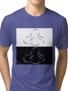 Abstract eggs Tri-blend T-Shirt