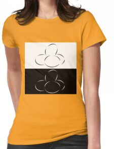 Abstract eggs Womens Fitted T-Shirt